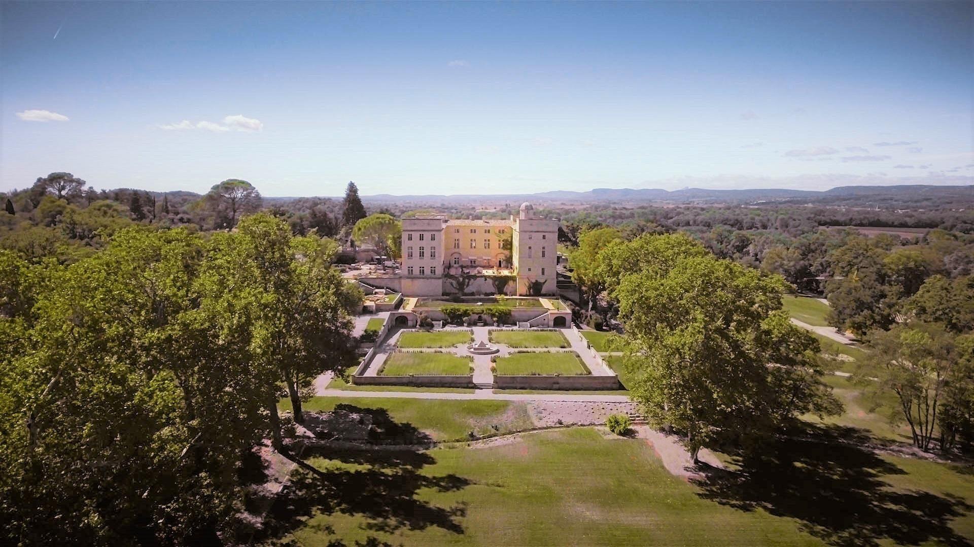 chateau-de-pondres-drone-evenementiel-reunions-occitanie-seminaires-de-caractere